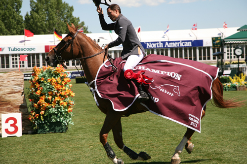 Kent Farrington of USA riding Zafira