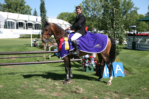 Alexander Grayton of CAN riding Wilanka
