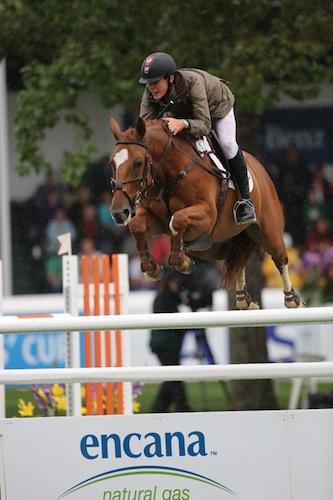 Ben Asselin of CAN riding Makavoy