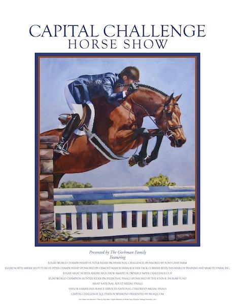 Capital HORSESHOW POSTER 2013 lo