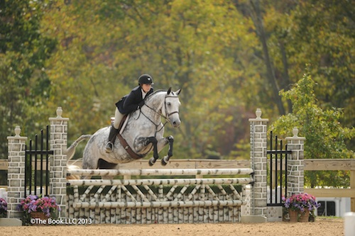 Andrea Huber and Willow. Photo copyright Parker/The Book LLC.