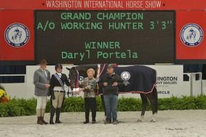 Daryl Portela and Winner in their grand champion presentation