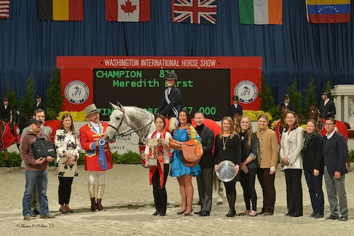 Meredith Darst and Soldier in the winning presentation