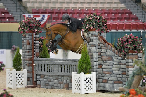 Second place finishers Katie Taylor and Cipriani. Photo copyright Shawn McMillen Photography.