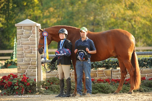 Victoria Colvin and Way Cool. Photo copyright Parker/The Book LLC.