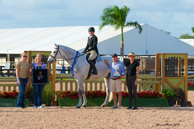 Fifty Shades and Kristy Herrera National Hunter Derby Presentation
