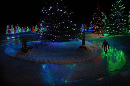 A place for Family – The Christmas Lights at Spruce Meadows