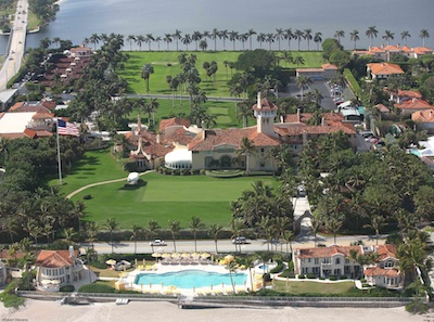 The beautiful grounds of The Mar-a-Lago Club. Photo © Robert Stevens.