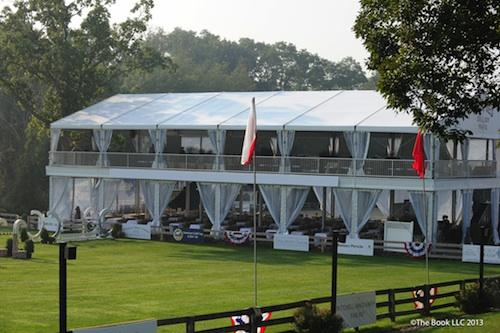 double decker tent VIP OSF lo