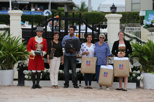 Emanuel Andrade was the Draper Overall Jumper Rider, Andrea King was the Overall Jumper Trainer, and Hollow Creek Farm was the Overall Jumper Owner