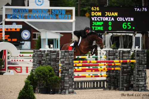 Victoria Colvin and Don Juan were winners in the Dixon Oval last year. Photo © The Book LLC.
