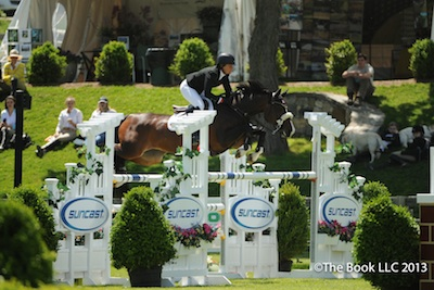 Two-time Olympic gold medalist Beezie Madden leads a full line-up of top riders at Old Salem Farm Spring Horse Shows.