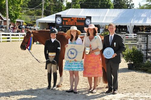Bernadette Chungunco and Spellbound Grand Pony Hunter Presentation. The Book LLC