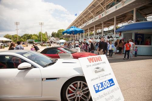 Win a two-year lease of a 2014 Jaguar F-Type sedan or convertible! Photo © Brenda Carpenter.