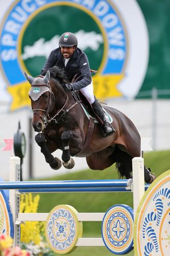Nicolas Pizarro Suarez of MEX riding Colasko