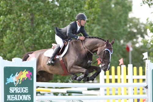 Richard Spooner of USA riding Tuxedo