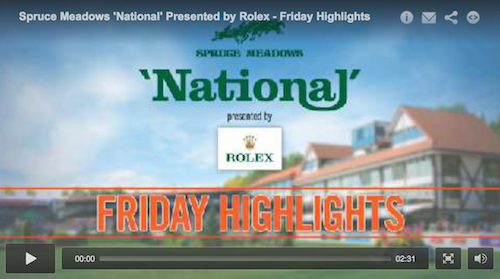 Watch highlights from Friday at the 'National'!