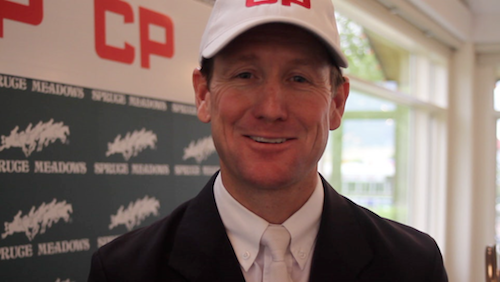 Watch an interview with McLain Ward!