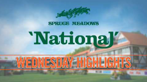 Watch highlights from today's competition at the 'National'!