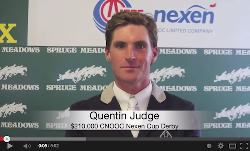 Watch an interview with Quentin Judge!
