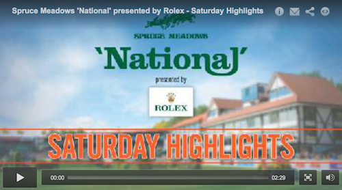 Watch highlights of Saturday's competition at the 'National'!