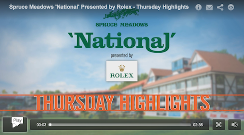 Watch competition higlights from Thursday at the 'National'!