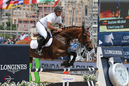 Gustavo Mirabal and G&C Leroy 136 on their way to a win in Monaco. Photo copyright Sportfot.
