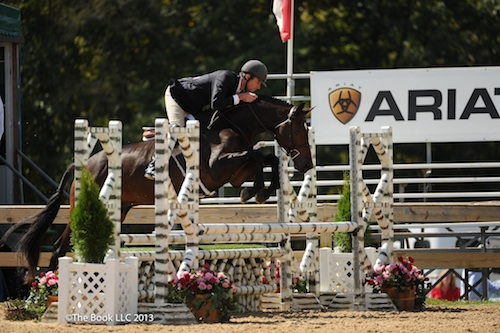 Hunt Tosh and Crisp compete in the Future Hunter Six-Year-Old division. Photo by The Book LLC