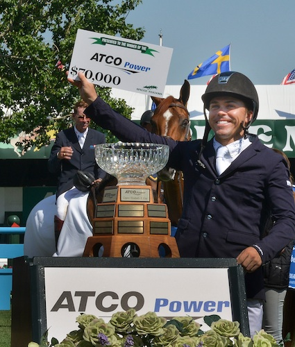 Kent Farrington in his winning presentation