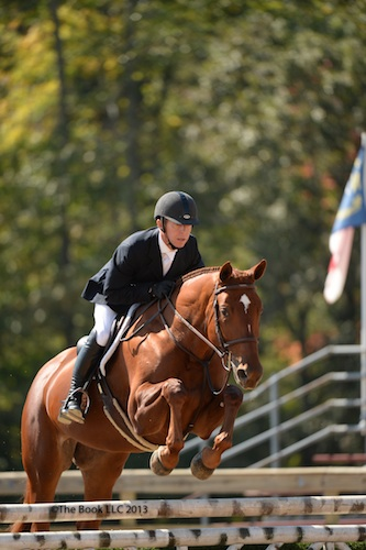 Phillip Cillis and Willow -Future Hunter Mares. Photo by The Book LLC