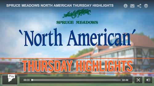 Watch a video of Thursday's highlights!