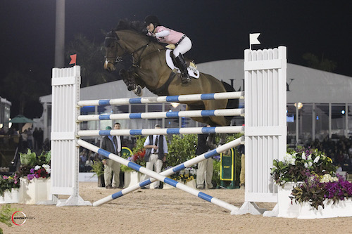 Alison Robitaille and Cassinja cleared 1.85m in their final round