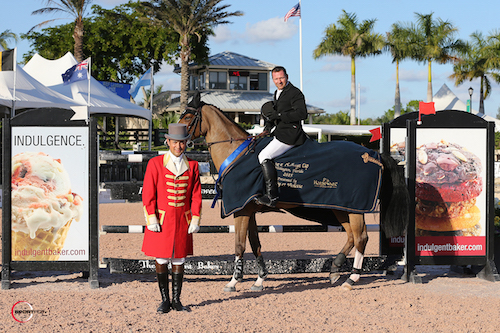 Eric Lamaze and Fine Lady 5 in their winning presentation