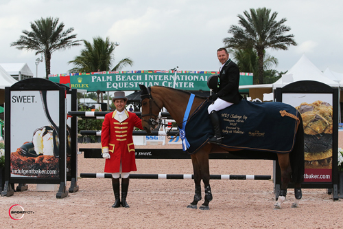 Eric Lamaze and Rosana du Park in their winning presentation