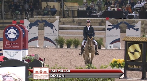 Watch Ian Millar and Dixson in their winning round! http://youtu.be/eBX6X8J97Rw