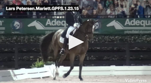 Watch the winning ride for Lars and Mariett!