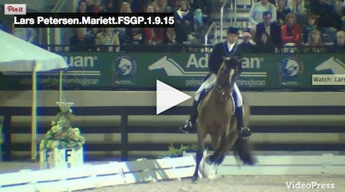 Watch the winning ride of Lars Petersen and Mariett. Video courtesy of Campfield Videos.