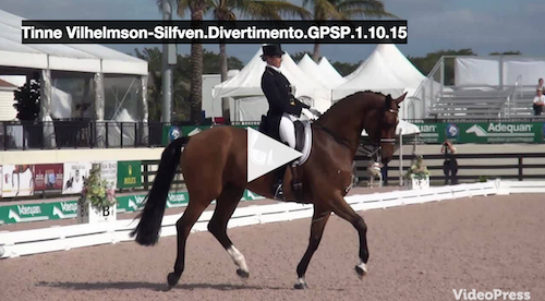 Watch the winning ride for Tinne and Divertimento!