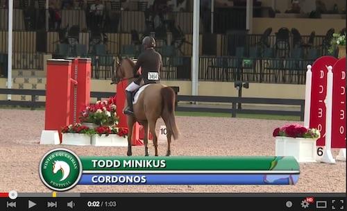 Watch the winning round of Todd Minikus and Cordons! http://youtu.be/HHCAj05SrhU