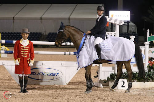 McLain Ward and HH Carlos Z in their winning presentation