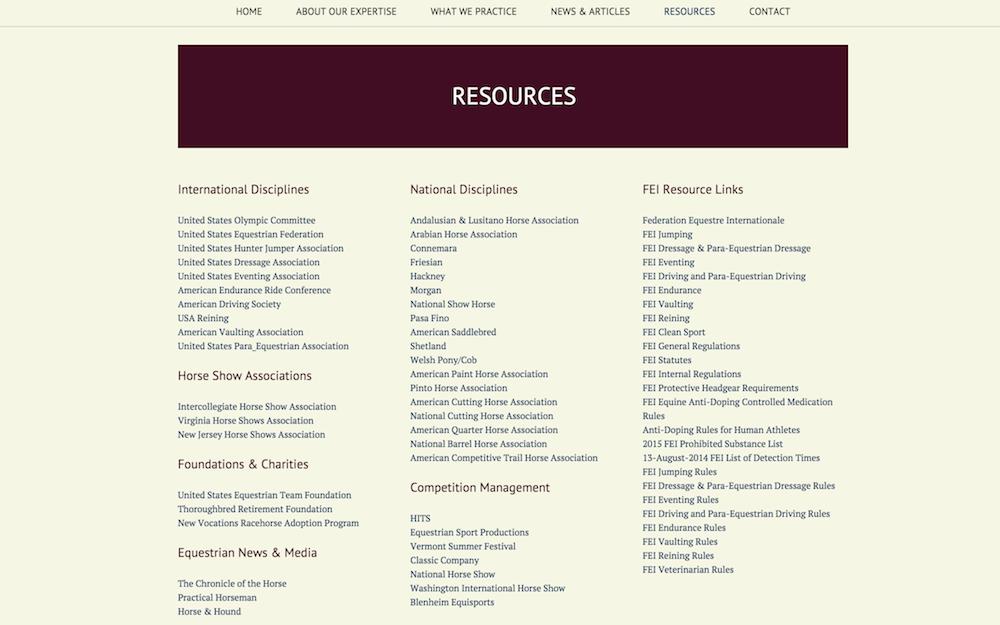 AL web resources sg