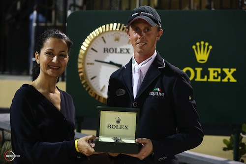 Maher and Mounia Mechbal, Vice President of Communications, Rolex Watch USA