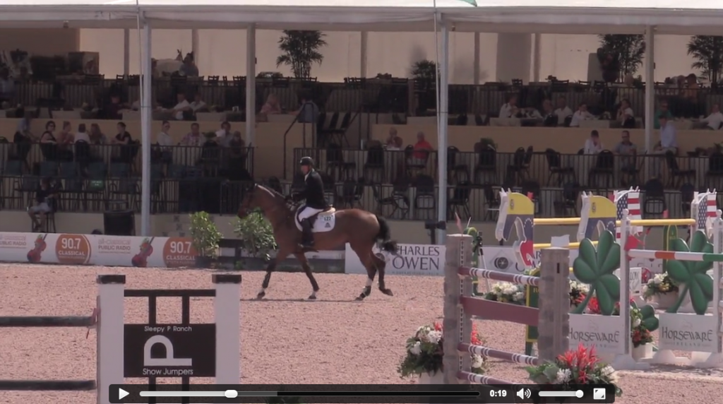 Watch Eric Lamaze and Fine Lady 5 in their winning round!