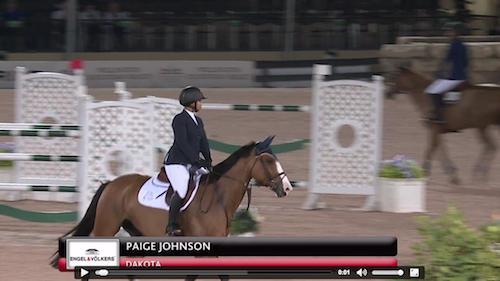 Watch Paige Johnson and Dakota in their winning round!
