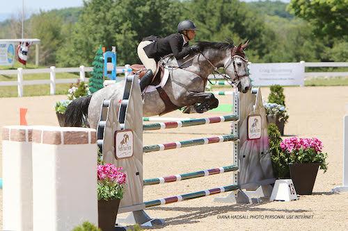 Caitlyn Shiels and Cavalier II. Photo by Diana Hadsall