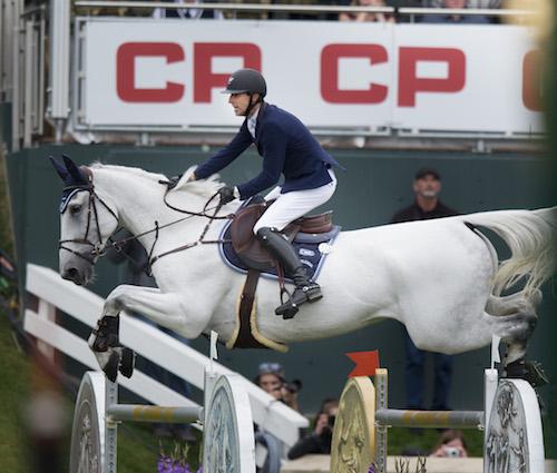 Pieter Devos of BEL riding Dylano