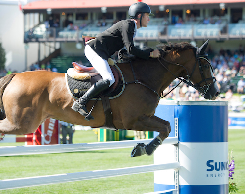 Scott Brash of GBR riding Hello Forever