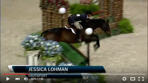 Watch Jessica Lohman and Davenport in their first round!