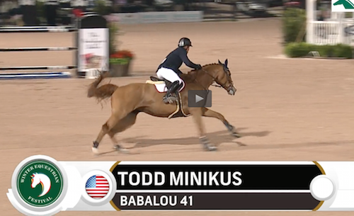 Watch Todd Minikus and Babalou 41 in their winning jump-off round!