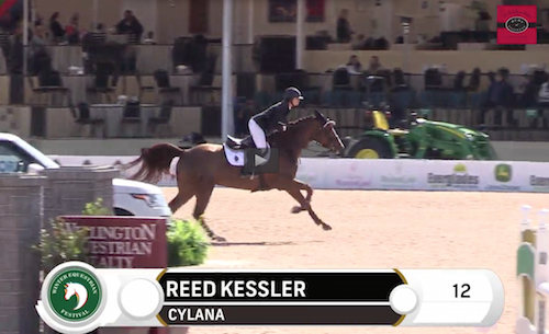 Watch Reed Kessler and Cylana in their winning jump-off round!